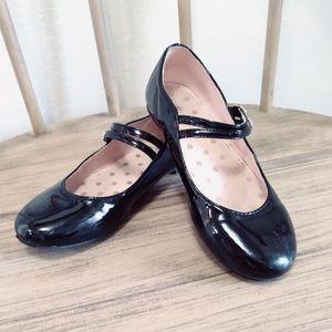 Christie & Jill Girls Patent Leather Mary Jane Dress Shoes Sz. 1